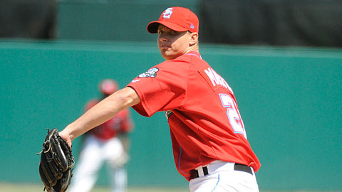 J.D. Martin dealt seven shutout innings to lead Syracuse to a 3-0 win Friday.