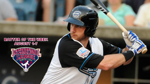 Corey Brown hit four home runs during the week of August 1-7.