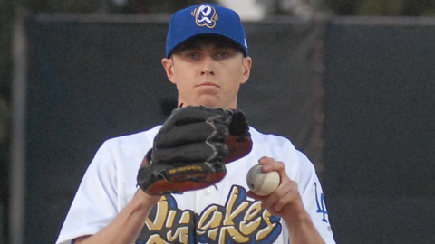 Chris Reed is tied for third in the California League with 25 strikeouts in 22 innings.