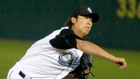 Chien-Ming Wang allowed only two runs over seven innings.