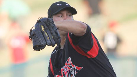 Mark Pope has allowed one run over eight innings against Bakersfield this year.