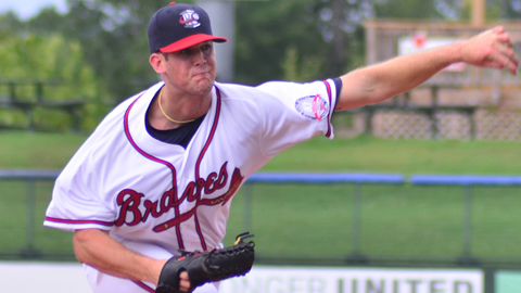 Alex Wood sports a 1.80 ERA in seven Sally League starts.